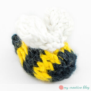 Tiny Knit Bumblebee - Knit Pattern