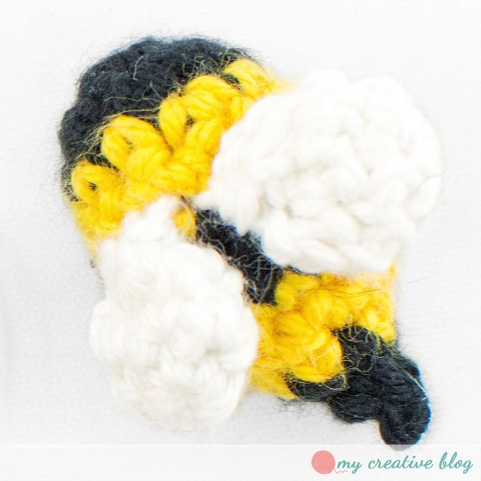 Teeny Tiny Bumblebee – Crochet Pattern – My Creative Blog