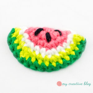 Watermelon Slice - Crochet Pattern