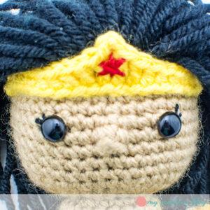 Wonder Woman Head