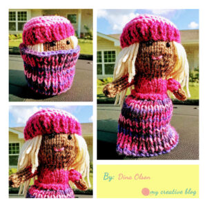 Dina Olson - Cupcake Doll Knit Pattern