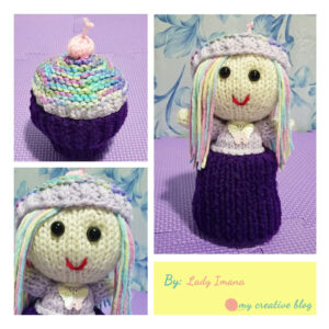 Lady Imana - Cupcake Doll Knit Pattern