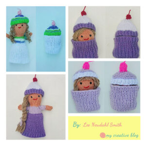 Lee Neudahl Smith - Cupcake Doll Knit Pattern