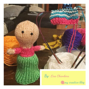 Lisa Chambers - Cupcake Doll Knit Pattern