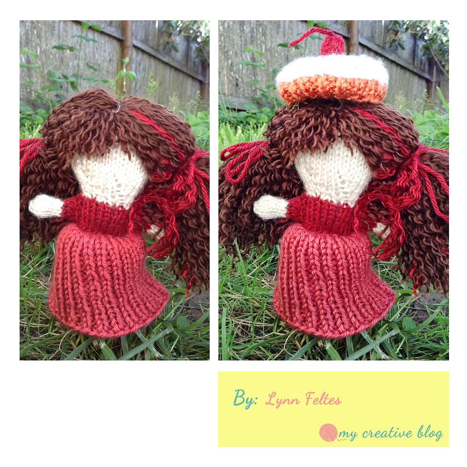 Cupcake Doll – Knit Pattern – My Creative Blog