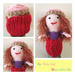 Misha Patel - Cupcake Doll Knit Pattern