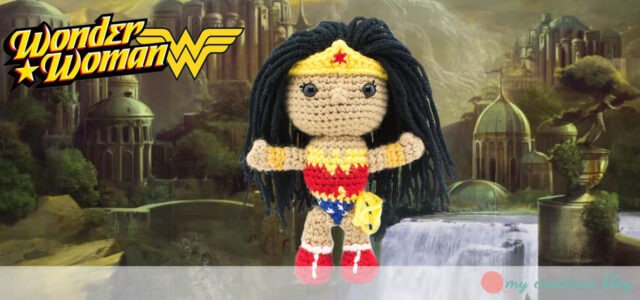 The Justice League: Wonder Woman - Crochet Pattern