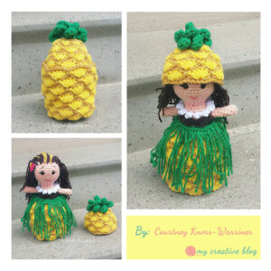 Courtney Knorr-Warriner - Hawaiian Pineapple Doll