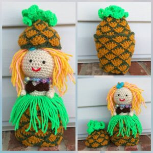 Dina Olson - Hawaiian Pineapple Doll