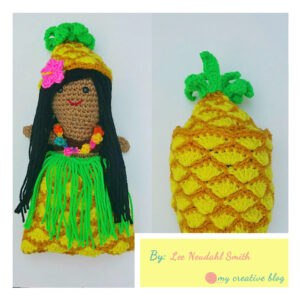 Lee Neudahl Smith‎ - Hawaiian Pineapple Doll