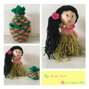 Misha Patel‎ - Hawaiian Pineapple Doll
