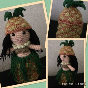 Natalie van Dalen - Hawaiian Pineapple Doll