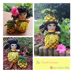 Pamela Emerson‎ - Hawaiian Pineapple Doll