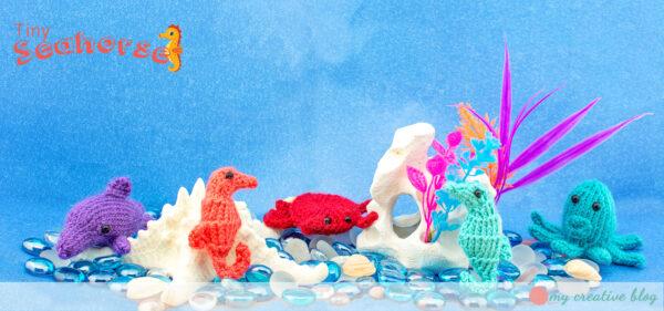 Tiny Seahorse - Free Knit Pattern