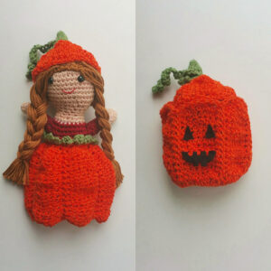 Lee Neudahl Smith - Pumpkin Spice Doll