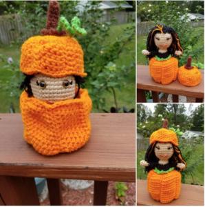 Pamela Emerson - Pumpkin Spice Doll