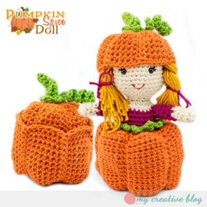 Pumpkin Spice Doll - Crochet Pattern