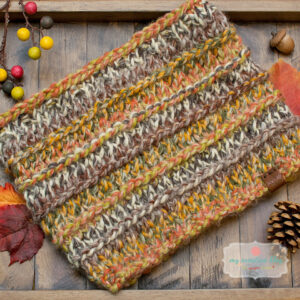 Tumbleweed Knit Cowl - Knit Pattern