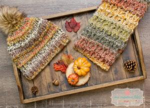 Tumbleweed Hat & Scarf - Knit Pattern