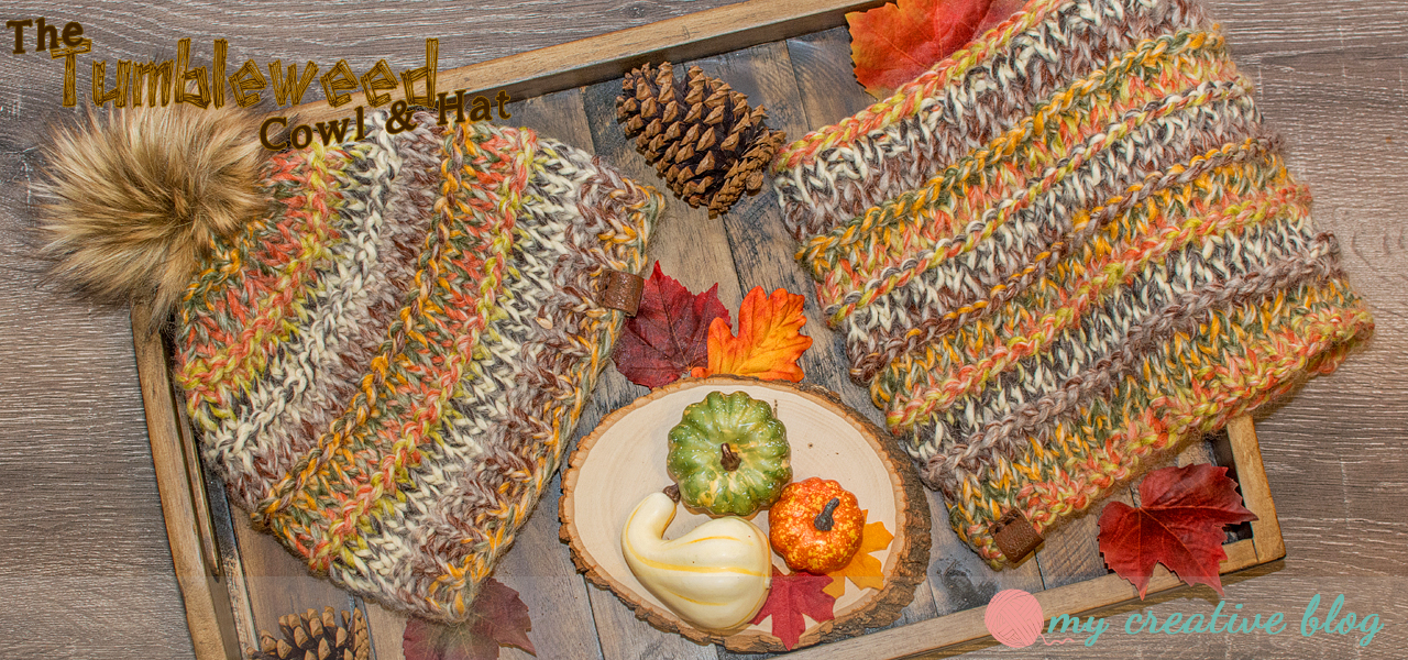 Tumbleweed Cowl & Hat - Knit Pattern