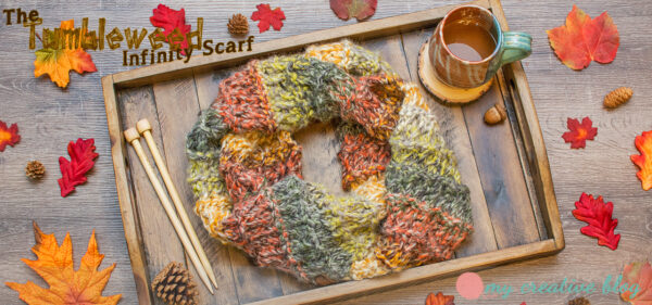 Tumbleweed Infinity Scarf - Knit Pattern
