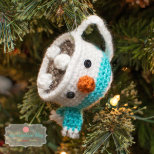 Snowman with Scarf Mug Ornament