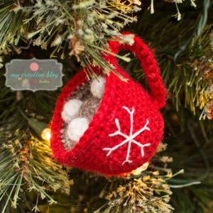Snowflake Mug Ornament