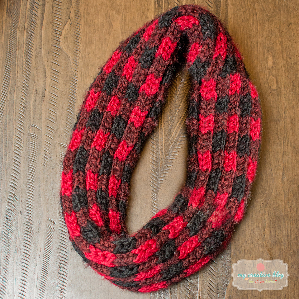 The Woodland Infinity Scarf – Knit Pattern – My Creative Blog