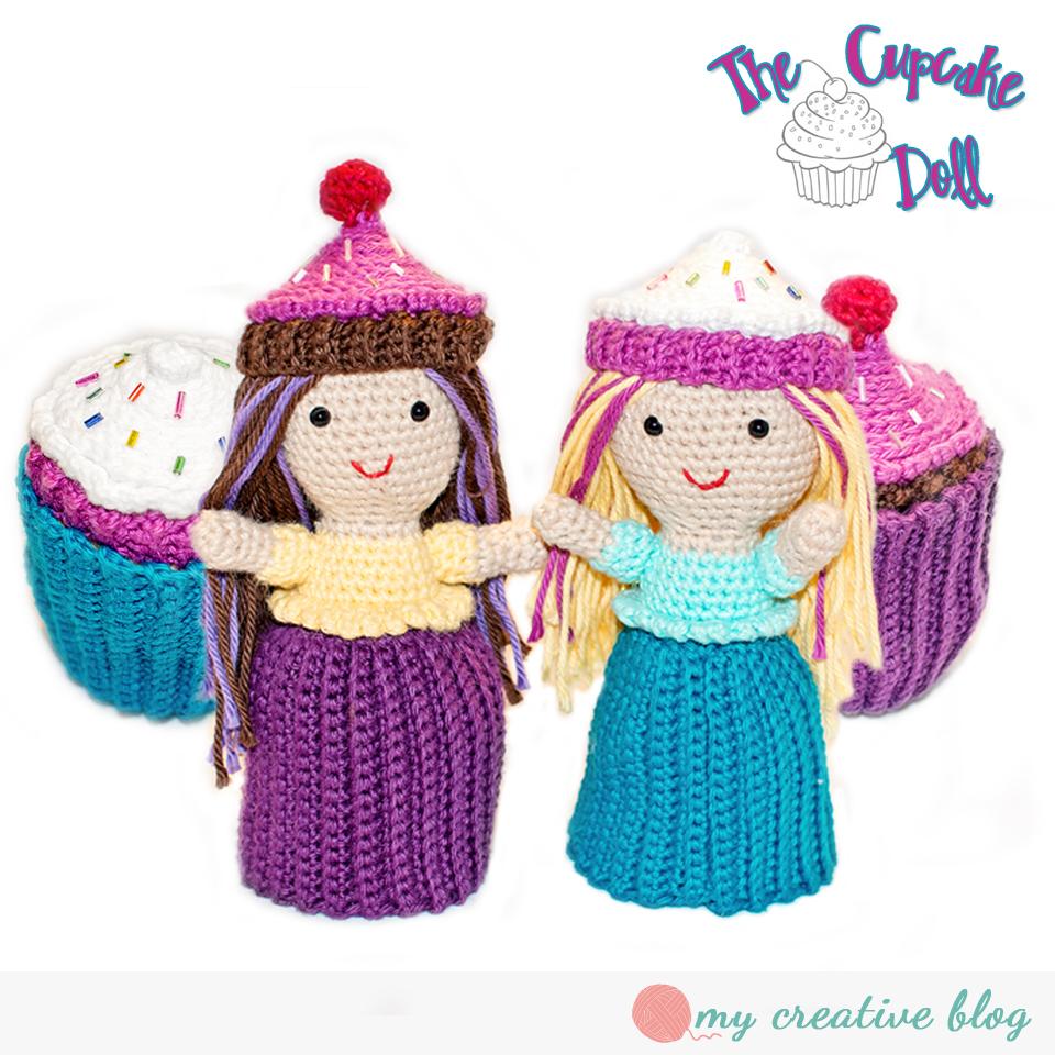 The Cupcake Doll - Crochet Pattern