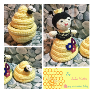 Julia Muller - Queen Bee-Hive Doll
