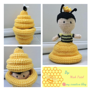 Misha Patel - Queen Bee-Hive Doll