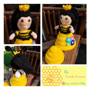 Pamela Emerson‎ - Queen Bee-Hive Doll