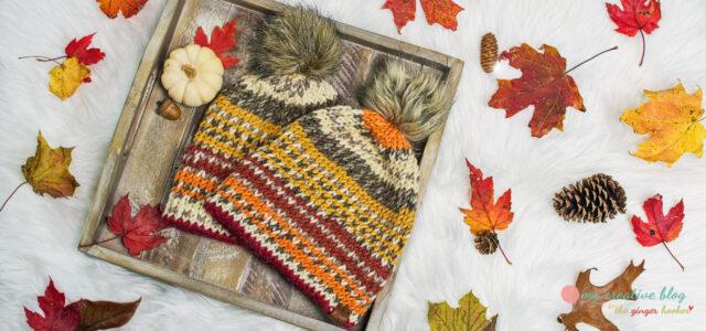 Chunky Double Brim Beanie - Knit Pattern
