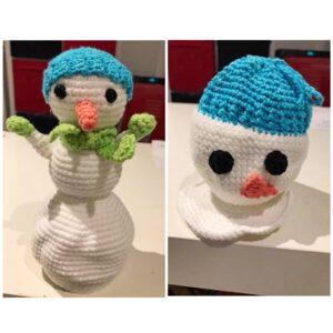 Natalie van Dalen - Melting Snowman