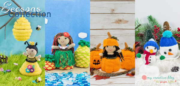 Seasons Doll Collection - Crochet Patterns