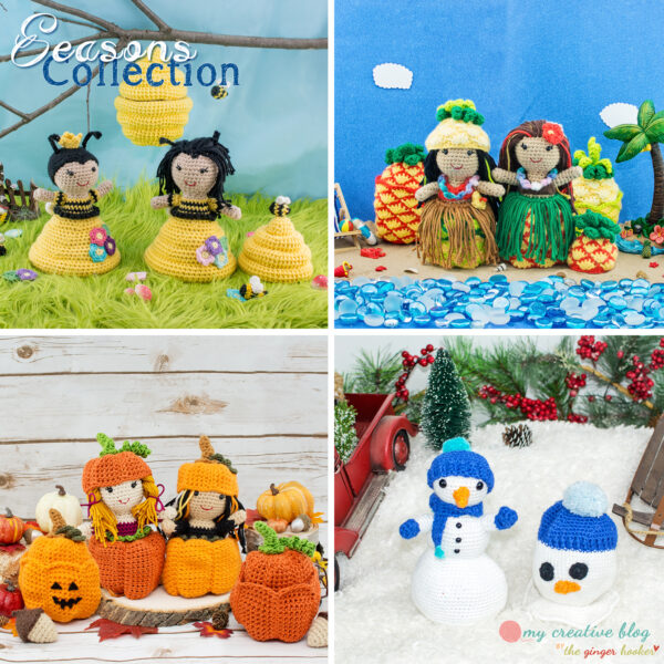 Seasons Doll Collection - Crochet Pattern